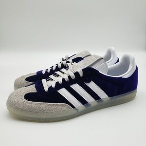 Adidas Samba OG Shoes Purple Haze Velvet Suede  [D